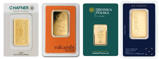 kurs palladu, platyny, złota i srebra